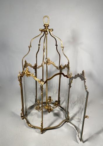19th century - Large bronze lantern circa 1850