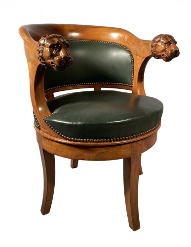 Armchairs with revolving seat, Paris circa 1810