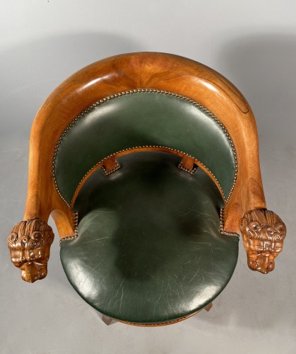 Empire - Armchairs with revolving seat, Paris circa 1810