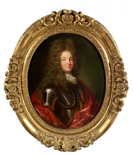 Portrait of a knight, French school circa 1700-1710