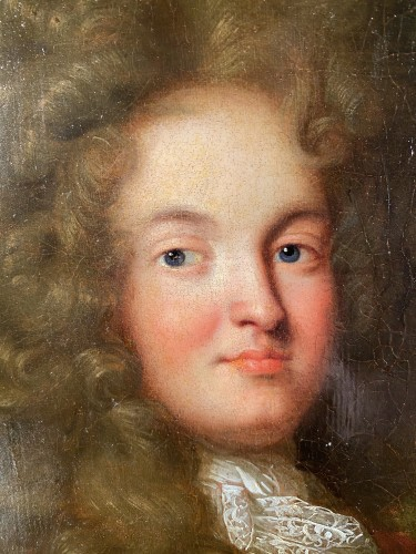 Portrait of a knight, French school circa 1700-1710 - Paintings & Drawings Style Louis XIV