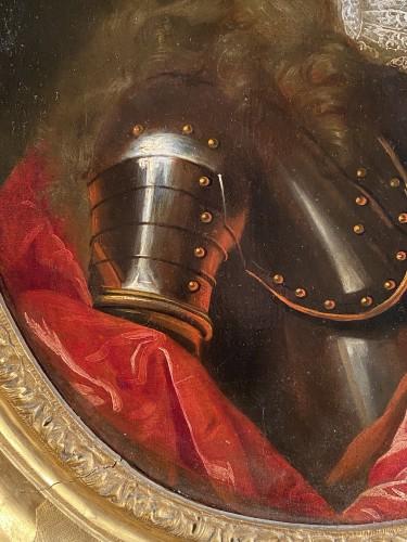 Portrait of a knight, French school circa 1700-1710 -