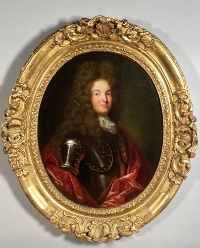 Portrait of a knight, French school circa 1700-1710 - Louis XIV