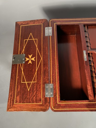 18th century - Exotic wood music table, La Rochelle Louis XV period