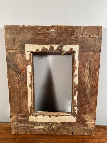17th century - Gilded wood frame, Spain 17th century