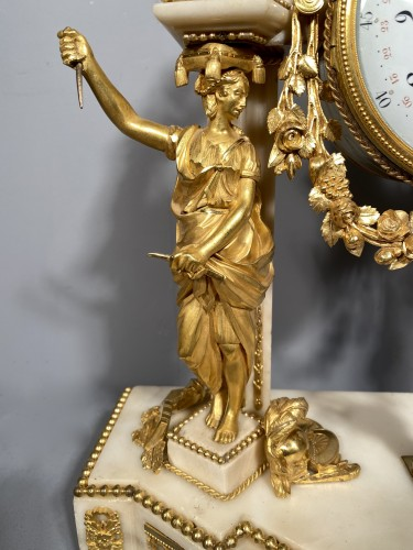 Horology  - Allegory of the theater clock, Paris, Louis XVI period