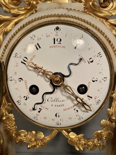 18th century - Allegory of the theater clock, Paris, Louis XVI period