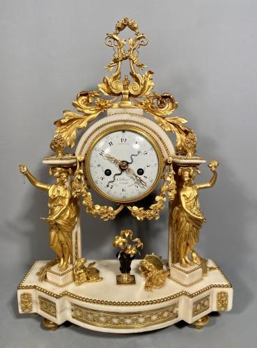 Allegory of the theater clock, Paris, Louis XVI period - Louis XVI