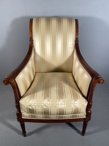 18th century - French fine 18th armchairs, attributed to G. Jacob around