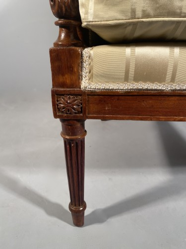 Louis XVI - French fine 18th armchairs, attributed to G. Jacob around