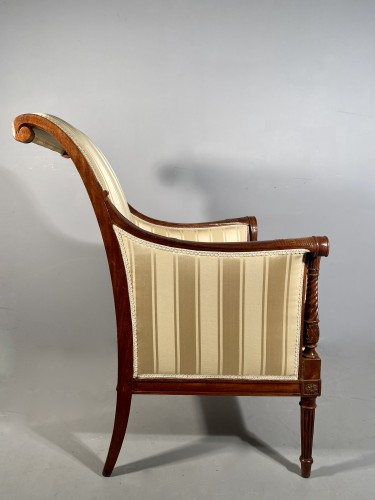 Antiquités - French fine 18th armchairs, attributed to G. Jacob around