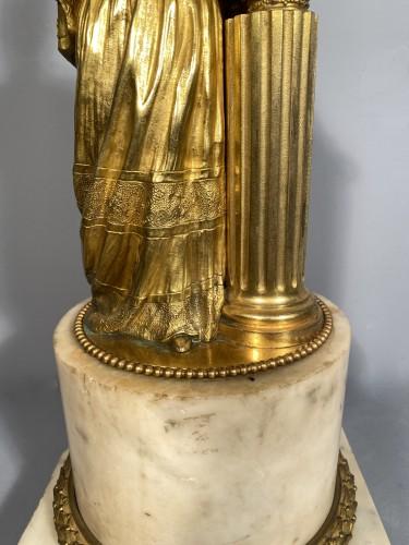 19th century - Marie-Antoinette queen of France, gilt bronze 19th century