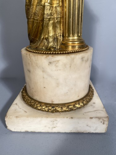 Marie-Antoinette queen of France, gilt bronze 19th century - Restauration - Charles X