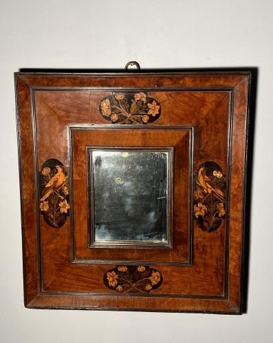 Parakeet mirror, Toulouse circa 1680 -