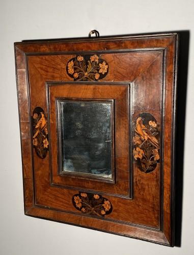 17th century - Parakeet mirror, Toulouse circa 1680