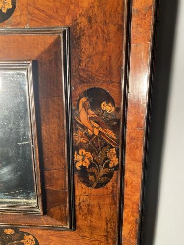 Louis XIV - Parakeet mirror, Toulouse circa 1680