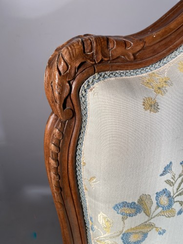 Seating  - Armchair with flat back, Provence around 1750