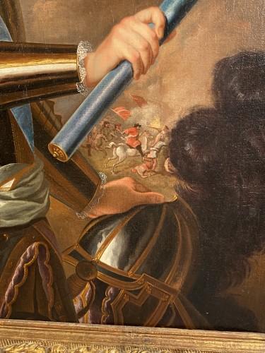 18th century - The Grand Dauphin at the Battle of Philippsbourg, 18th century