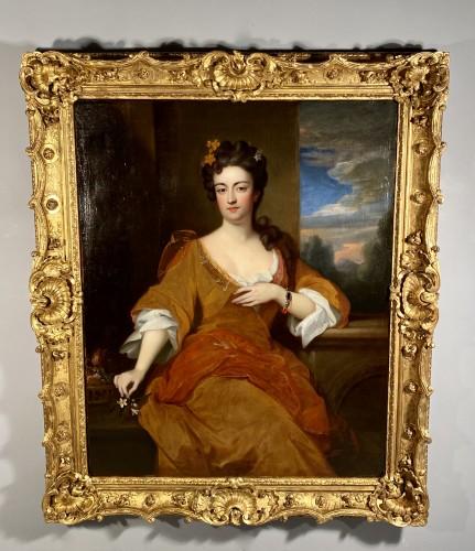Antiquités - Portrait of a Princess circa 1690
