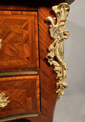 Important chest of drawers stamped ID circa 1740 - Furniture Style Louis XV