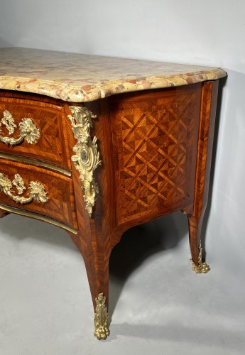 Antiquités - Important chest of drawers stamped ID circa 1740