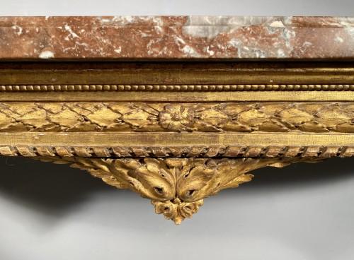 "Furniture  - Gilt oak ""console d'applique"" attributable to G. Jacob around 1780"