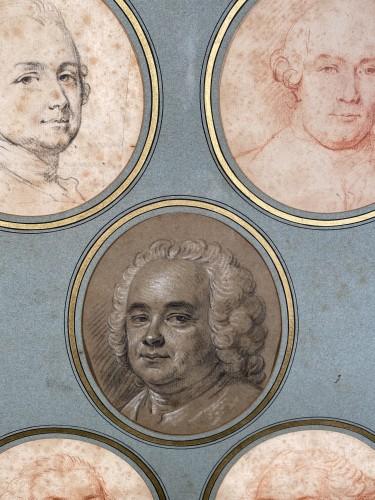 Portraits of the Valois family by Hubert Drouais circa1760 -