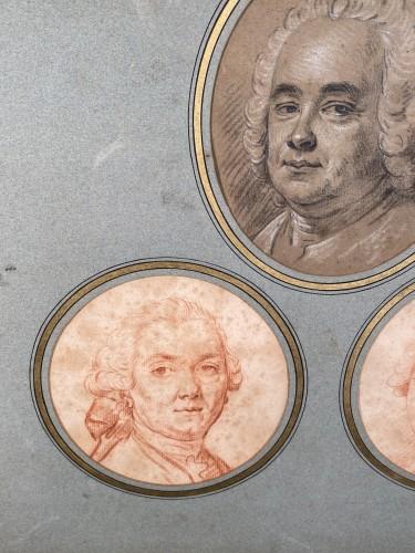 18th century - Portraits of the Valois family by Hubert Drouais circa1760