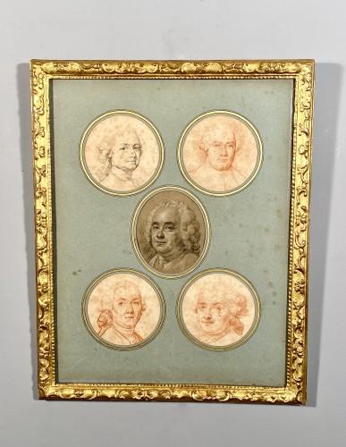 Louis XV - Portraits of the Valois family by Hubert Drouais circa1760