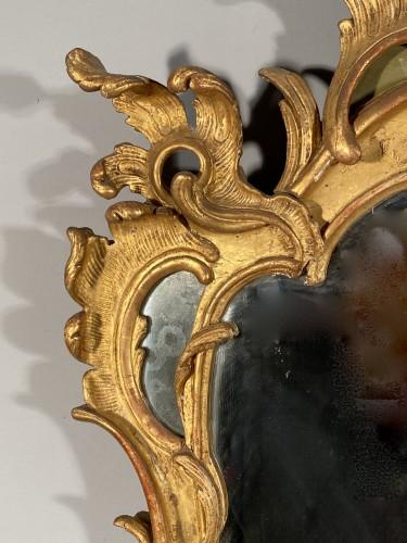 Mirrors, Trumeau  - Gilt wood mirror, Provence Louis XV period circa 1750