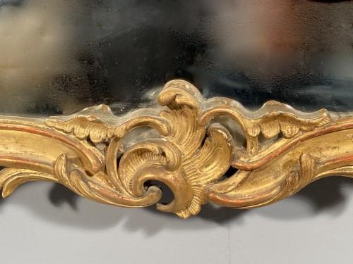 Gilt wood mirror, Provence Louis XV period circa 1750 -