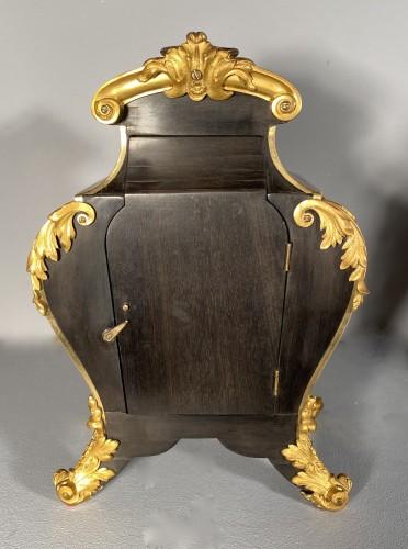 Antiquités - Small travel cartel, Paris Louis XIV period