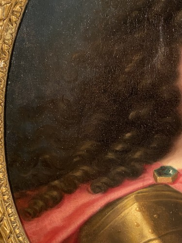 Louis XIV in armor, Pierre Mignard and workshop around 1670. -
