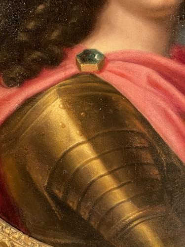 17th century - Louis XIV in armor, Pierre Mignard and workshop around 1670.