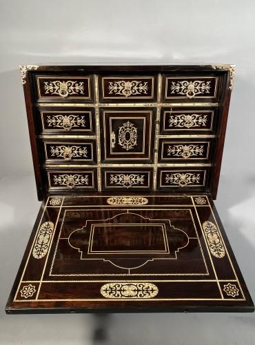 Travel cabinet, ebony and ivory, Milan circa 1620 -