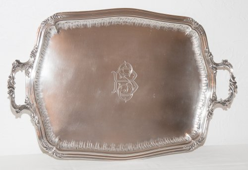 French sterling Silver tea service by Silversmith Émile Puiforcat (1857-1927) - Antique Silver Style