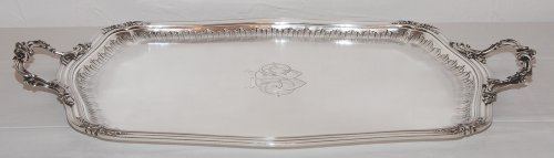 Antique Silver  - French sterling Silver tea service by Silversmith Émile Puiforcat (1857-1927)