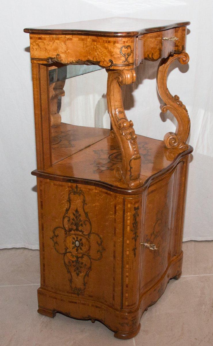 Paire de meubles d 39 appui poque charles x xixe si cle for Epoque restauration meuble