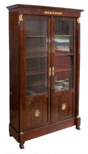 biblioth que ancienne antiquit s anticstore. Black Bedroom Furniture Sets. Home Design Ideas