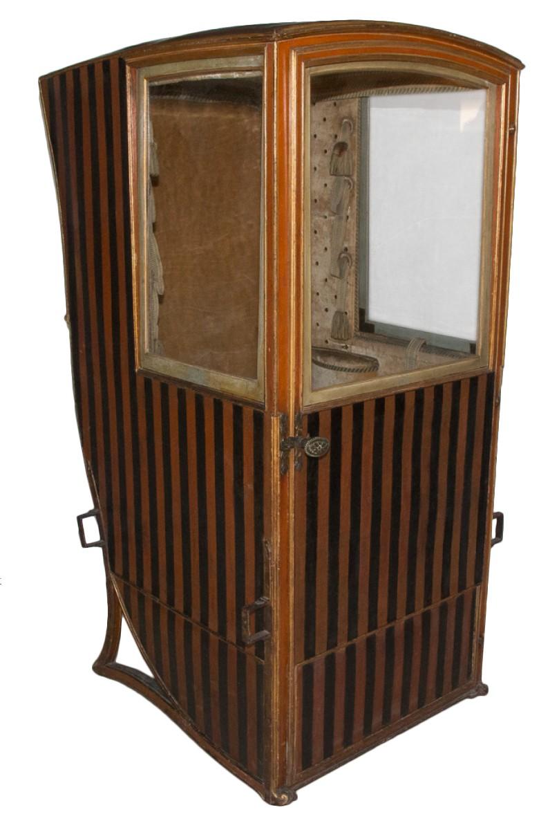 Chaise à porteur d'époque Louis XV