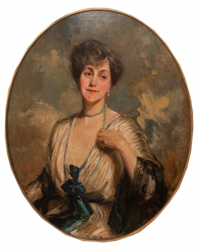 Princess Poniatowski - Jacques Émile Blanche (1861-1942) - Paintings & Drawings Style