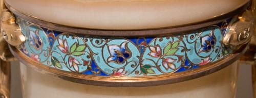 Vase in onyx and gilded bronze - Eugène Cornu (1827- 1899) -