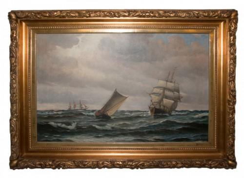 Large Marine - Vilhelm BILLE (1864-1908)