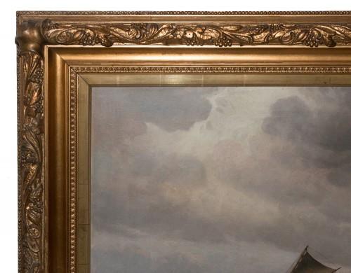 Paintings & Drawings  - Large Marine - Vilhelm BILLE (1864-1908)