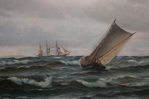 - Large Marine - Vilhelm BILLE (1864-1908)