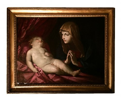 Virgin and Child - 17th Century Bologna School