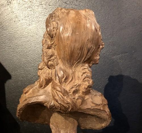 Terracotta Bust of Louis XV - Fernand Cian -