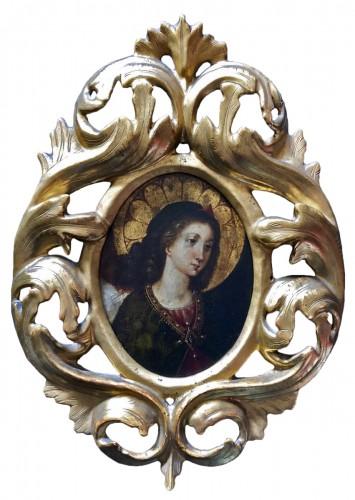 Archange Gabriel (école florentine du 17ème )