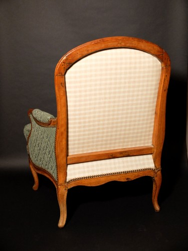 Seating  - Bergère à la reine stamped J.B.BOULARD