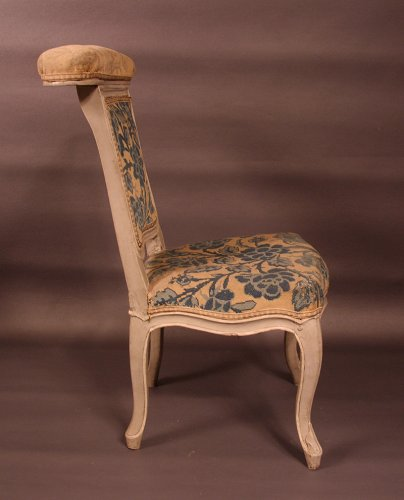 "Chair ""voyeuse d'homme"" called ""ponteuse"" by JN BLANCHARD - XVIIIth -"